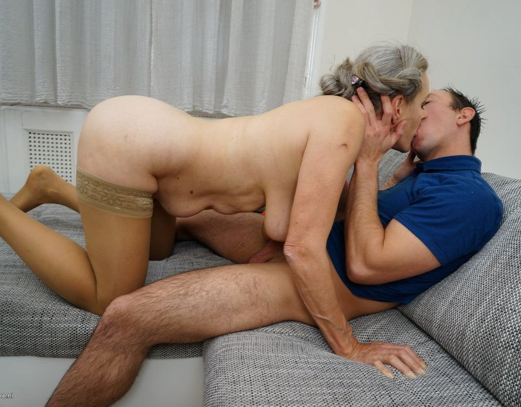 George uhl, bojinka in granny gets fucked by young man, hd